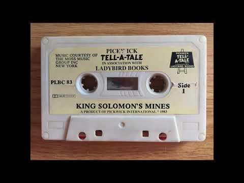 King Solomon's Mines Audio Tape Cassette Read-Along