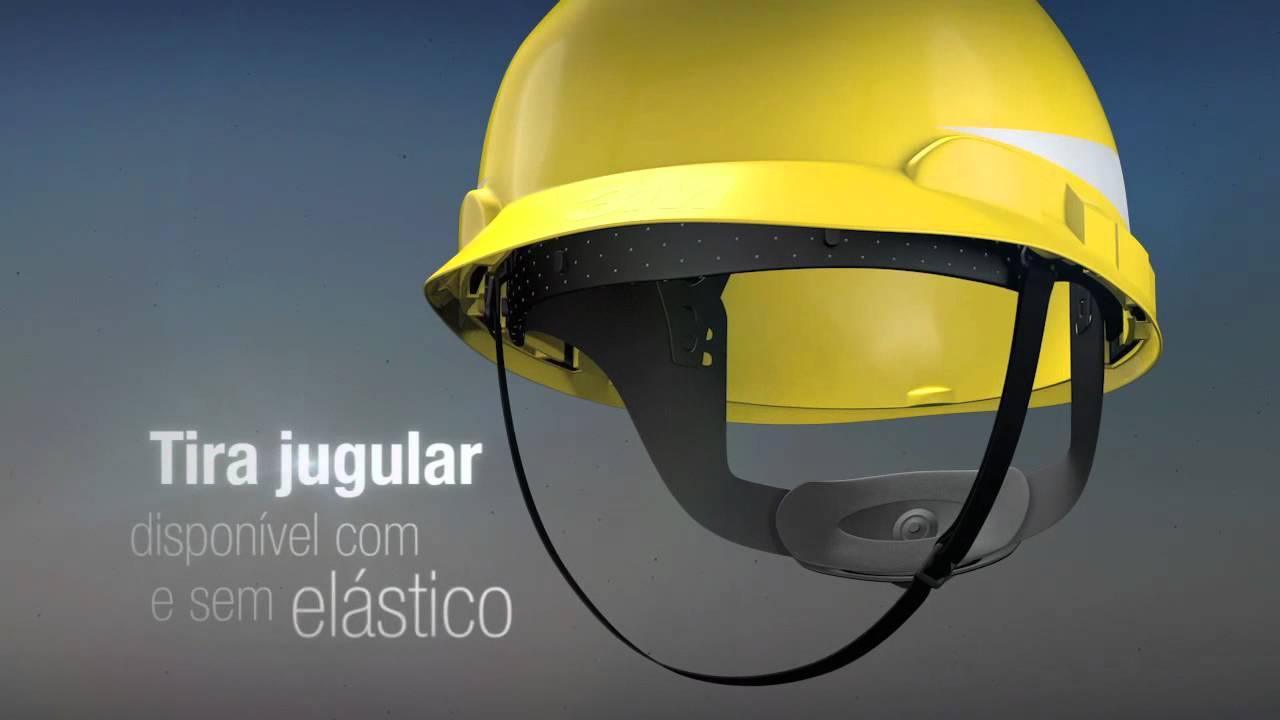 3M capacete H700 - YouTube