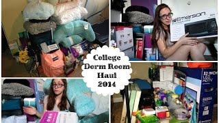 College Dorm Room Haul 2014 Thumbnail