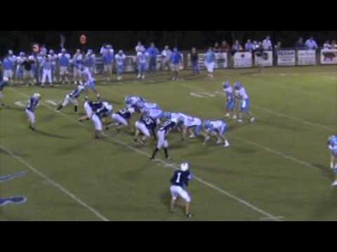Chris Sharp Football Highlights- Wilson Hall