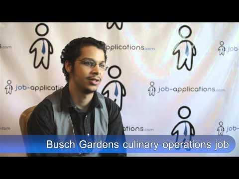 Busch Gardens Interview - Culinary Operations