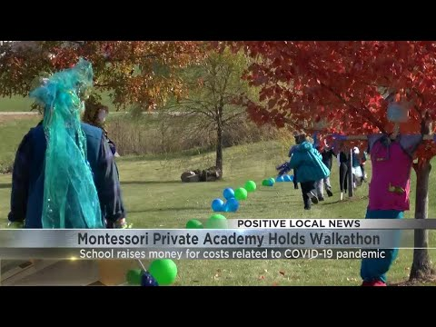 Montessori Private Academy holds walkathon to raise money
