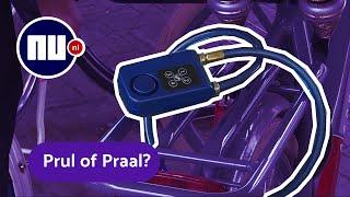 Fietsslot met hard alarm werkt te goed? | Prul of Praal? #48 | NU.nl