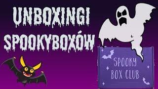 Unboxingi 2 Spookyboxów: Going Batty & Dark Agenda