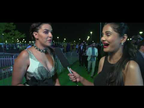 Neha Dhupia at IIFA 2017 Green Carpet. thumbnail