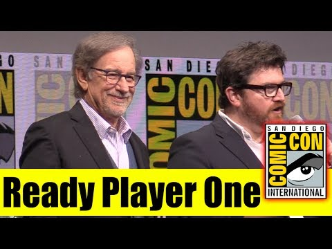 READY PLAYER ONE | Comic Con 2017 Full Panel (Steven Spielberg, Olivia Cooke, Tye Sheridan)