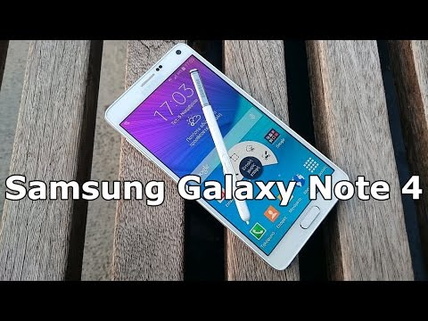 Samsung Galaxy Note 4 Hands on Review [Greek]