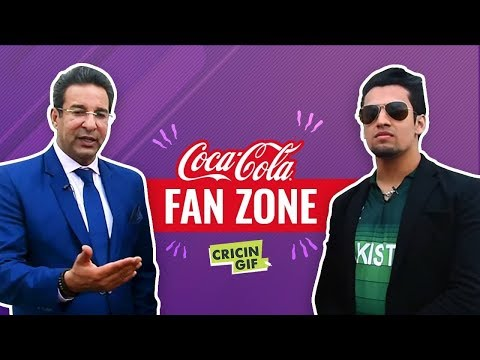 World Cup 2019 India vs Pakistan: Coca Cola FanZone Powered by Cricingif