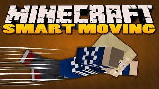 Minecraft Mods - Smart Moving Mod - DIVING (Minecraft Mod Showcase)