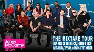 Mix Tape Tour: NKOTB, Tiffany, Naughty by Nature, Salt-N-Pepa, & Debbie Gibson