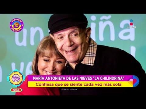 ¿ABIERTA AL AMOR? María Antonieta de las Nieves se siente muy sola tras la muerte de su esposo