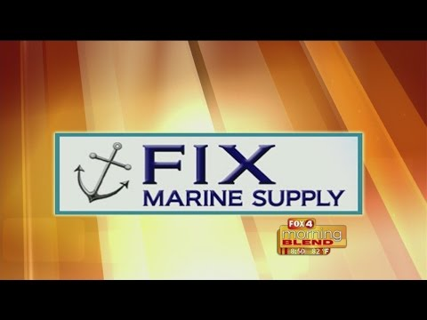 Marine Minute - Fix Marine Supply: How to maintain your boat lift 08/03/2015