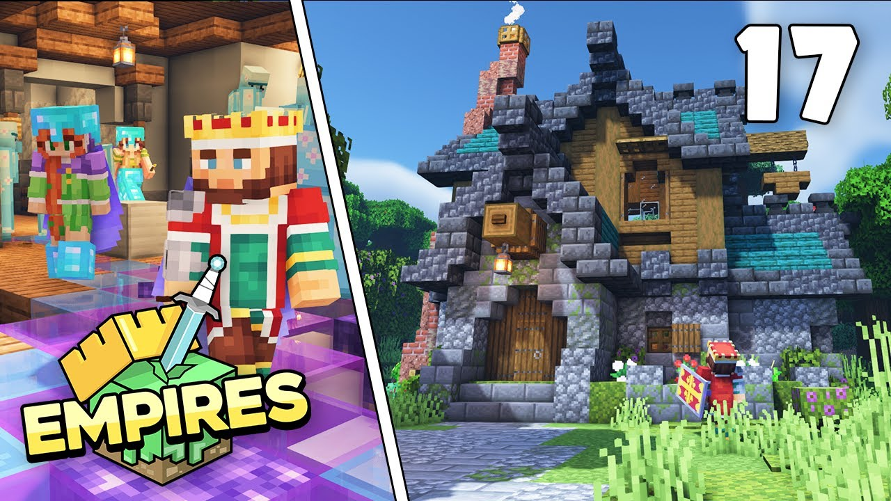 Empires SMP - Pranks & Banner Maker Shop!!! - Ep.17 [Minecraft 1.17 Let's Play]