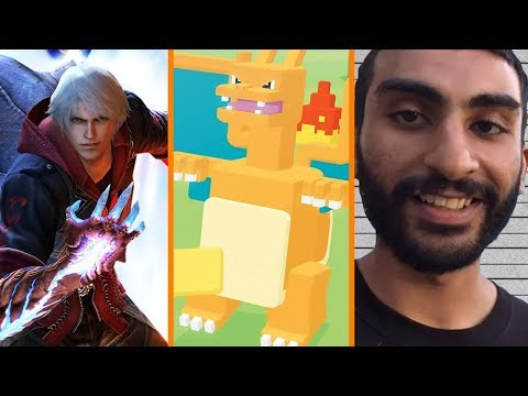 Devil May Cry 5 RATED + Pokemon Quest A Millionaire! + YouTuber Arrested Over Bomb