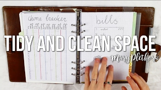 How To Keep Your Space Tidy And Clean // MaryPlethora
