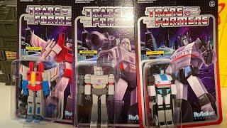 Super7 Transformers ReAction Figures !!!