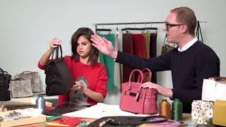 The coach selena grace bag is finally out! we take a look behind-the-scenes at design process with gomez and stuart vevers. subscribe to #legend o...