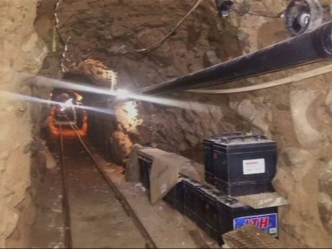 Drug tunnel discovered along U.S., Mexico border