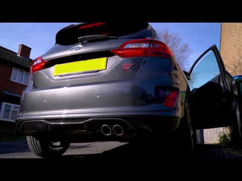 Ford Fiesta exhaust note ( model)