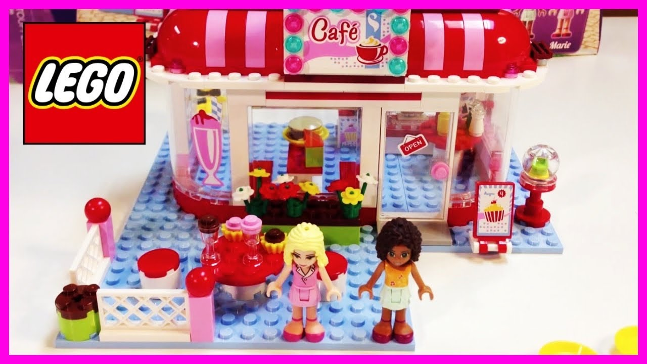 Lego Friends 3061 City Park Cafe Toys For Girls Youtube