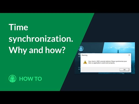 Time synchronization. Why and how?