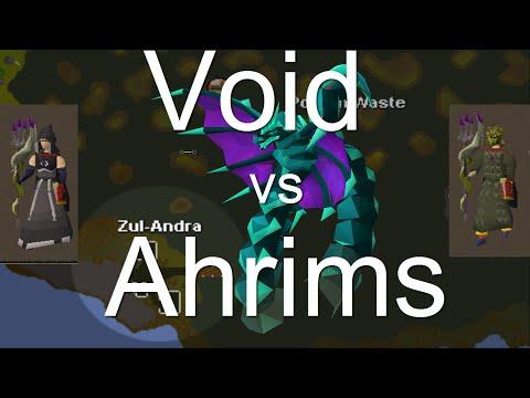 Zulrah  : Void Or Ahrims?