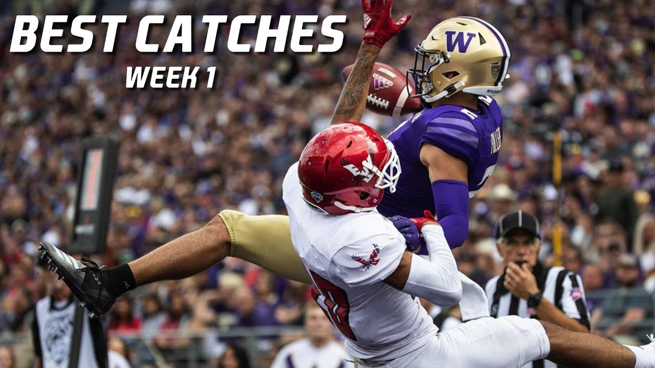 Download College Football Best Catches 2019-20 - Week 1 ᴴᴰ