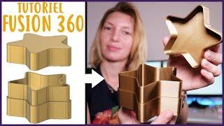 Tutoriel Fusion 360 : Modéliser une boîte pour l