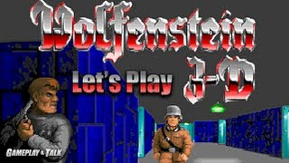 Let's Play Wolfenstein 3D for the PC - Episode 1