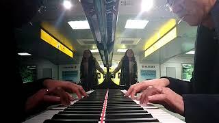 浜松駅のYAMAHAフルコンピアノで弾いてみた(^q^)