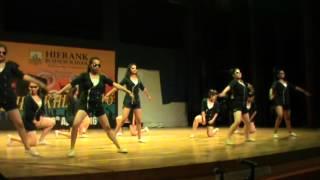 Group Dance || Janki Devi College || Hierank Shrinkhla 2016
