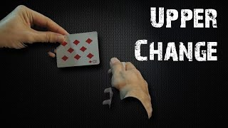 Card magic / How to change a card revealed - Upper Change