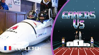 The Adrenaline Rush of Bobsleigh with Gamers As2Pik and Nemsworld | Gamers Vs.
