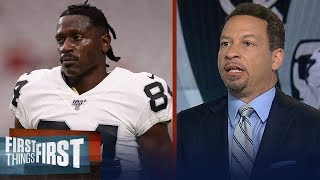 The Raiders have to regret dealing for Antonio Brown - Chris Broussard | NFL | FIRST THINGS FIRST