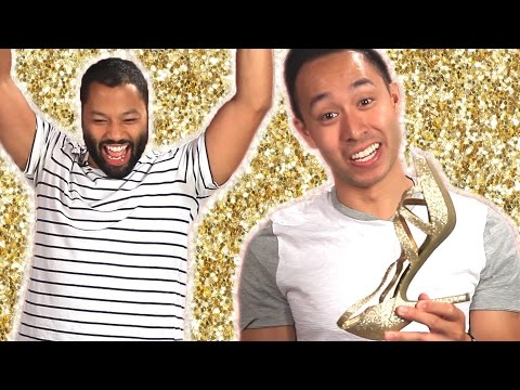 Men Try Heels For A Day
