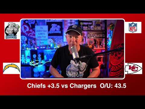 Kansas City Chiefs vs Los Angeles Chargers 1/3/21 NFL Pick and Prediction Sunday Week 17 NFL