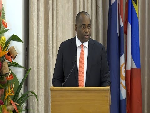 Hon Roosevelt Skerrit Incoming Chairman - Monetary Council