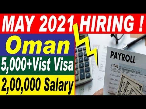 Jobs in Oman 2021    Latest Oman Jobs 2021    Jobs in Oman for All Nationalities    Jobs in Oman