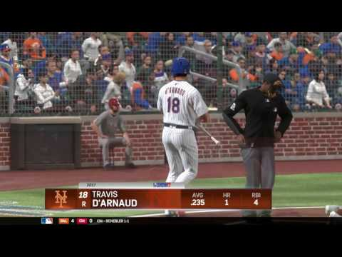 MLB17: The Show. Season Mode (Mets). Game 14. Phillies @ Mets. Hellickson Vs. Matz