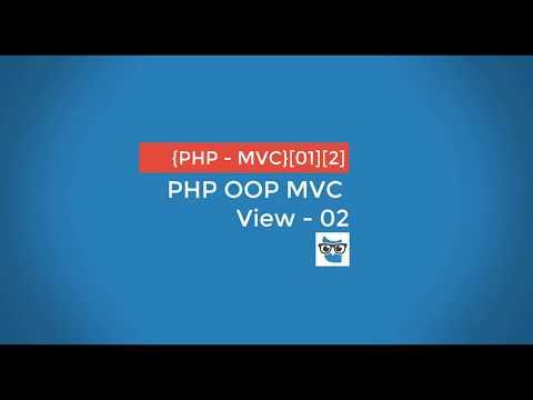 PHP OOP MVC - View - 02