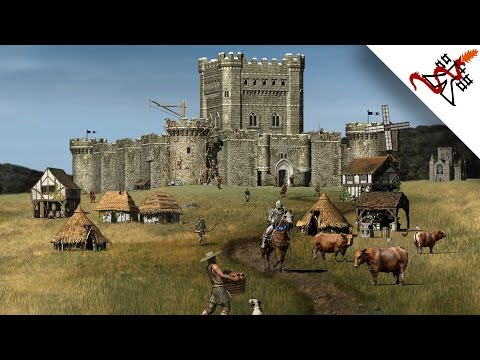 Stronghold HD - Mission 2 THE LONG VALLEY | Economic Campaign [Very Hard/1080p/HD]