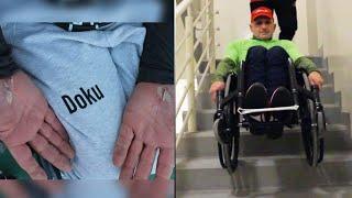 Haki, l'eroe dei record: corre in carrozzina 121km in 12 ore per dare una lezione di vita al mondo