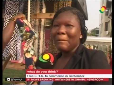What do you think of free SHS to commence in September? - 13/2/2017