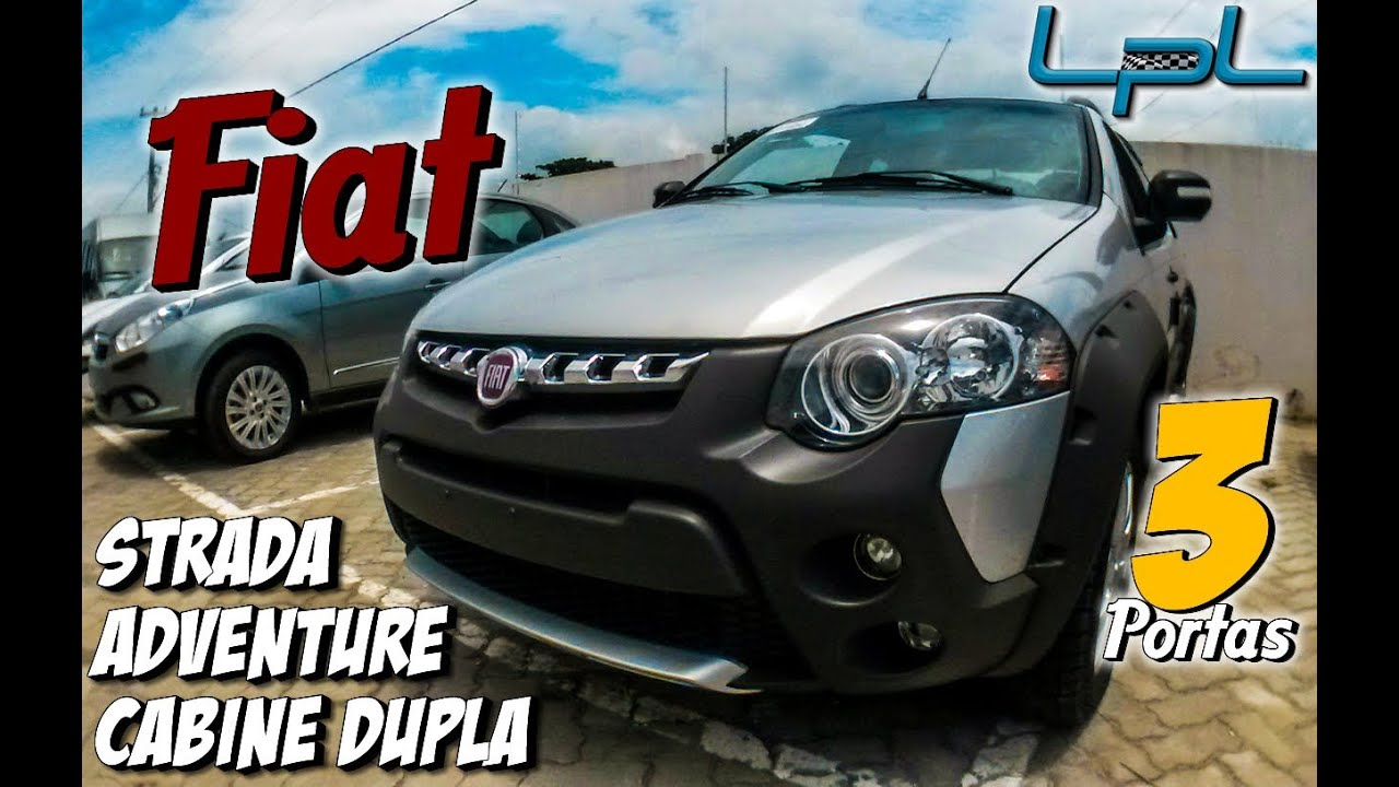 Fiat Strada Adventure Cabine Dupla 3 Portas  Review