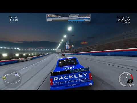 NASCAR Heat 4 Truck Race |