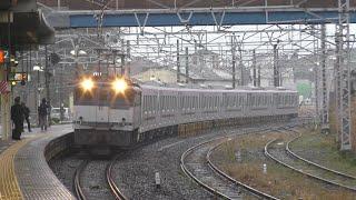 【甲種輸送】EF65 2095牽引、東武70090系7両 2020.3.8