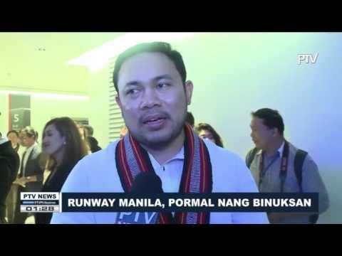 Runway Manila, pormal nang binuksan