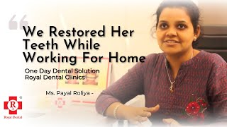 Testimony of Our Decade Old Patient, Payal Roliya | Dental Implants Review | Best Dentist In Mumbai