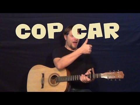 Cop Car Keith Urban Easy Strum Guitar Lesson Standard Tuning How