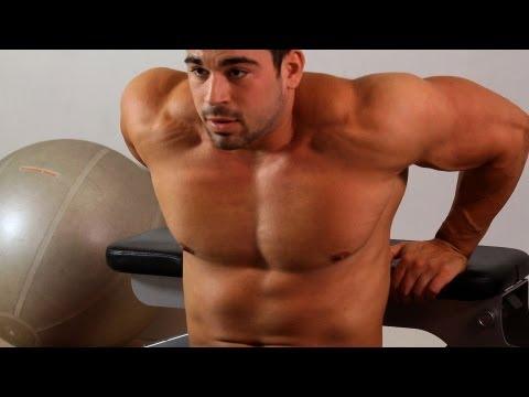 Vince Gironda DIPS for Bigger Pecs | FunnyDog.TV